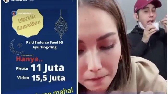 Tarif Endorse Ayu Ting Ting di Bulan Ramadhan 2021 Bocor, Ucapan Syifa Anak Rozak Disorot