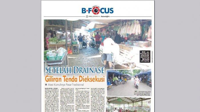 Upaya PD PBB Meningkatkan Fasilitas Pasar di Kawasan Martapura Terkendala Persoalan ini