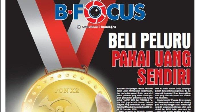 Dispora Ambil Alih Pelatprov Pra-PON Kalsel, Insentif Atlet Wasaka Terhenti Sejak Januari 2019