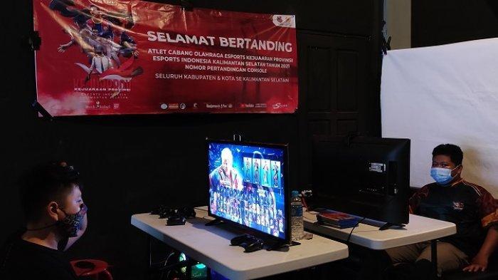 Hasil Kejurprov ESI Kalsel 2021 Nomor Game Konsol, Banjarbaru, Banjar dan HSS Raih Emas