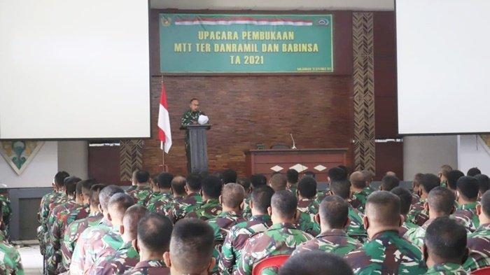 Danramil dan Babinsa Kodim 1006 Banjar Kalsel Ikuti Program MTT Bimbingan Teritorial