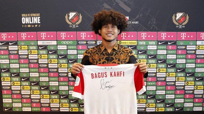 Nomor Punggung Bagus Kahfi di FC Utrecht Saat Diperkenalkan Secara Resmi Masih Misterius
