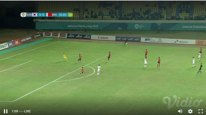 Hasil Korea Selatan vs Iran di Sepakbola Asian Games 2018 - Skor Akhir 2-0, Son Heung Min Cs 8 Besar