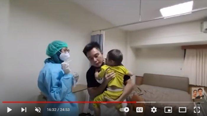 Perbuatan Baim Wong Kala Paula Lahiran Disemprot Dokter, Ulah Ayah Kiano dan Kenzo Terekam