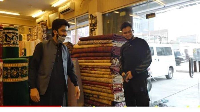 Isi Rumah Baru Paula, Baim Wong Membeli Karpet di Toko Orang Pakistan, Ayah Kiano Syok Lihat Harga