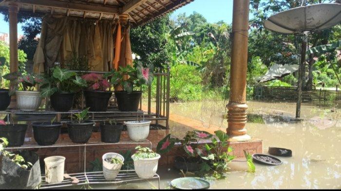 Banjir Kalsel di Haruyan Kabupaten HST Berangsur Surut, Warga Sudah Beraktivitas Normal