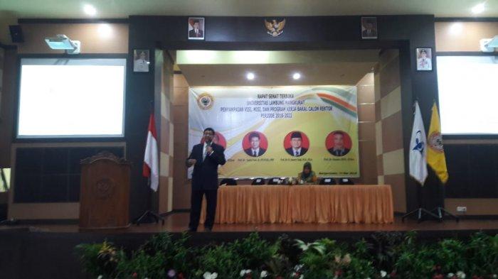 Prof Zairin akan Lebih Utamakan Hati Ketika Nanti Terpilih Jadi Rektor ULM