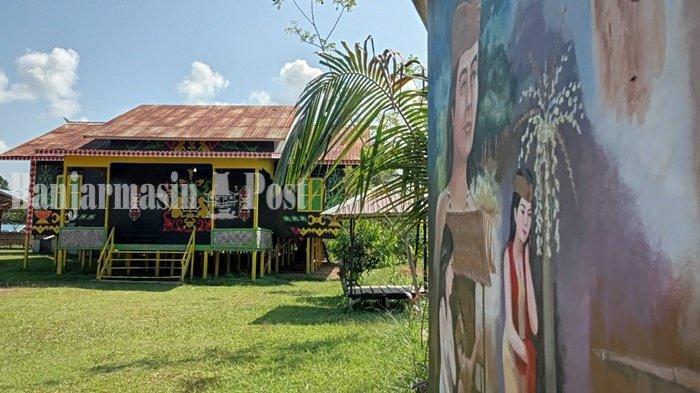 Wisata Kalsel, Balai Adat Dayak Maanyan Warukin Tabalong Jadi Pusat Gelar Budaya