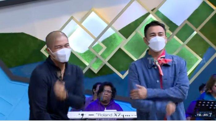 Bams eks Samson kini Raffi Ahmad syok