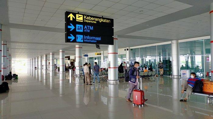 Antisipasi Arus Balik Lebaran di Bandara Tjilik Riwut, Polresta Palangkaraya Tempatkan Personil