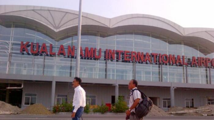 Pesawat Wings Air Mendarat Darurat Setelah Mesin Ada Percikan Api di Bandara Kualanamu