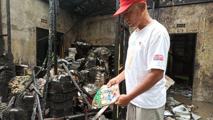 Kebakaran Gudang Buku di Jalan HKSN, ini Penjelasan Kapolsek Banjarmasin Utara