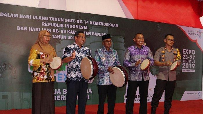 Resmikan Banjar Expo 2019, Guru Khalil : Banjar Expo Dorong Pertumbuhan Ekonomi Kerakyatan