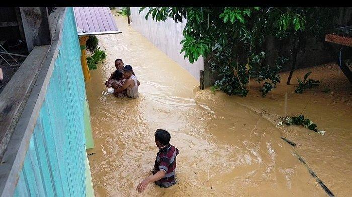 Warga Meratus di Batangalai Timur HST Minta Kolam Pengendali Banjir Juga di Wilayah Atas