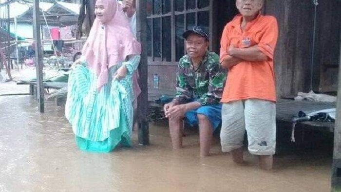 Saat Peringati Hari Kesiapsiagaan Bencana, Banjir Landa 2 Kecamatan di Tapin