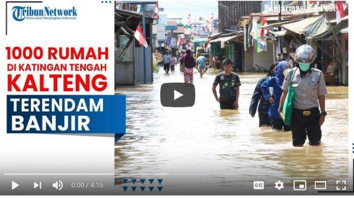 Banjir di Kalteng, BPBD Banjarmasin Kirim Bala Bantuan ke Kabupaten Katingan