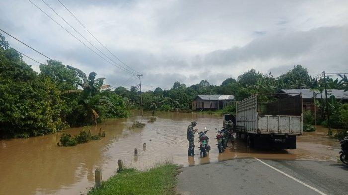 Banjir Terjang Kaltara, Dua Desa di Kecamatan Malinau Barat Tergenang