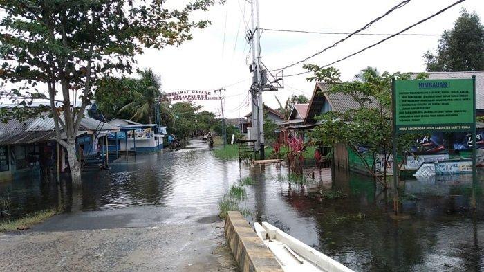 Ribuan Korban Banjir Kalsel di Batola Masih Mengungsi, Terbanyak di Mandastana