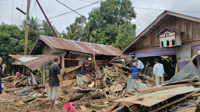 Cerita Warga Batu Benawa Kabupaten HST Lolos dari Maut Saat Banjir Bandang