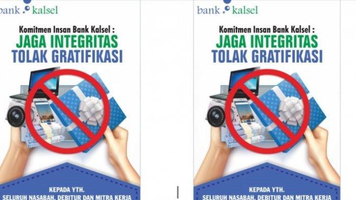 Komitmen Insan Bank Kalsel: Jaga Integritas, Tolak Gratifikasi