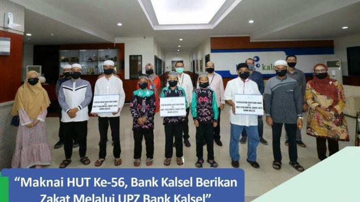 Bank Kalsel Berbagi Bantuan kepada Kaum Masjid, Panti Asuhan, dan Tahfidz Quran