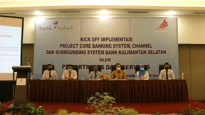 Bank Kalsel beserta tim service provider