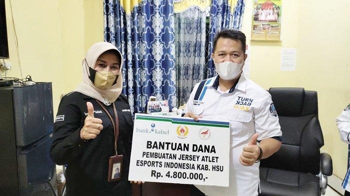 Bank Kalsel Beri Bantuan kepada ESI Kabupaten Hulu Sungai Utara