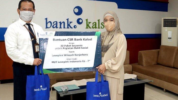 CSR Bank Kalsel Dukung Lovepink Banjarbaru Peduli Kanker Payudara