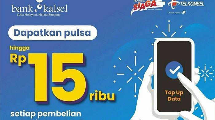 Bank Kalsel Geber Promo Pembelian Paket Internet bagi Nasabah