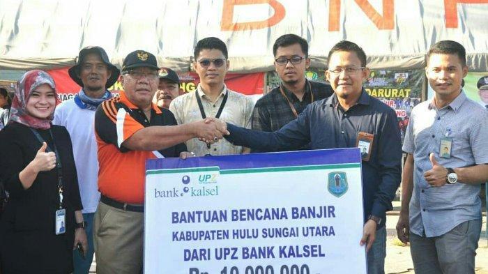 Bank Kalsel Salurkan Bantuan untuk Korban Banjir di HSU