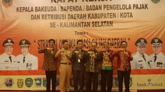 Gandeng Bank Kalsel, Pemkab Tabalong Launching Simda Pendapatan Online dan E-BPHTB
