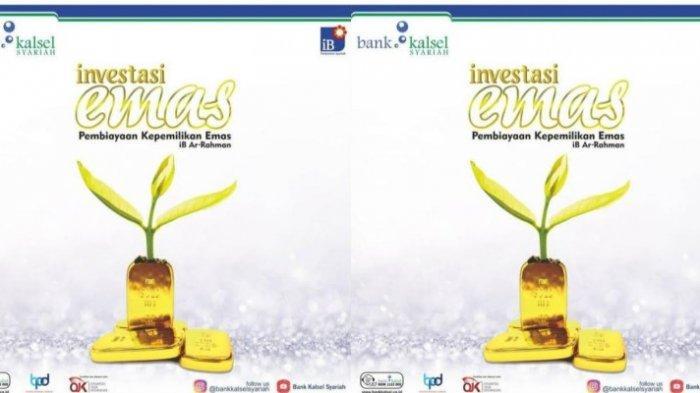 Yuk, Investasi Emas di Bank Kalsel Syariah