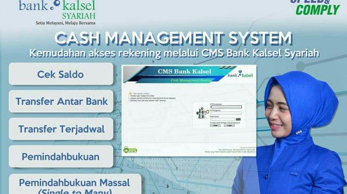 Bank Kalsel Syariah Tawarkan Fasilitas Cash Management System