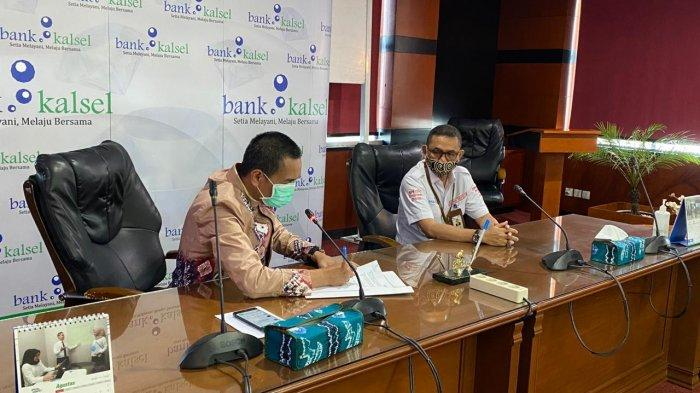 Kembangkan Ekosistem Digital Banua, Bank Kalsel Teken MoU dengan Startup Borneo Berjaya