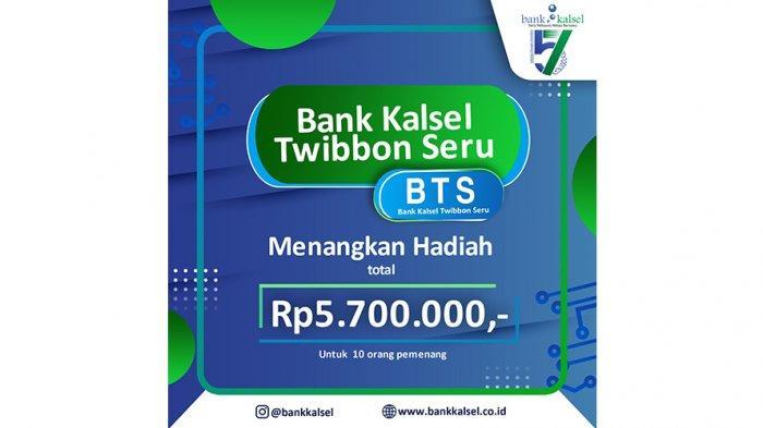 Bank Kalsel Twibbon Seru, Event Seru Semarakkan HUT ke-57