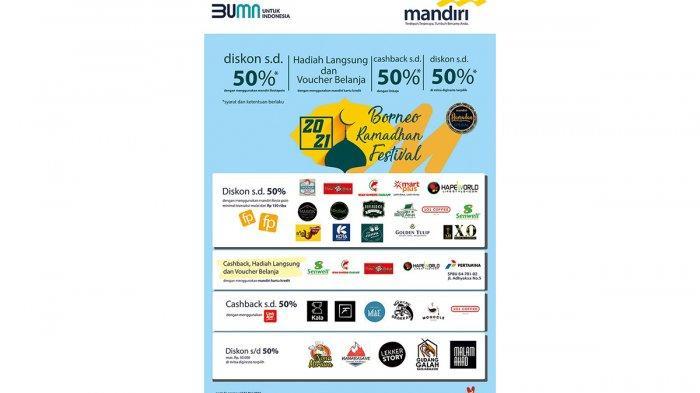 Bank Mandiri Berbagi Diskon di Borneo Ramadhan Festival 2021