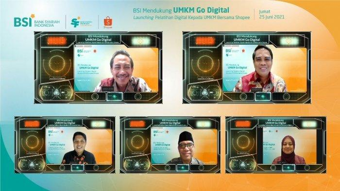 Peringati Hari UMKM Internasional, BSI dan Shopee Gelar Pelatihan Go Digital