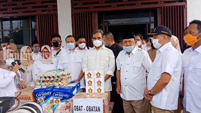 Banjir di Kalsel, Delapan Truk Bantuan Partai Gerindra Disalurkan ke Daerah Terdampak