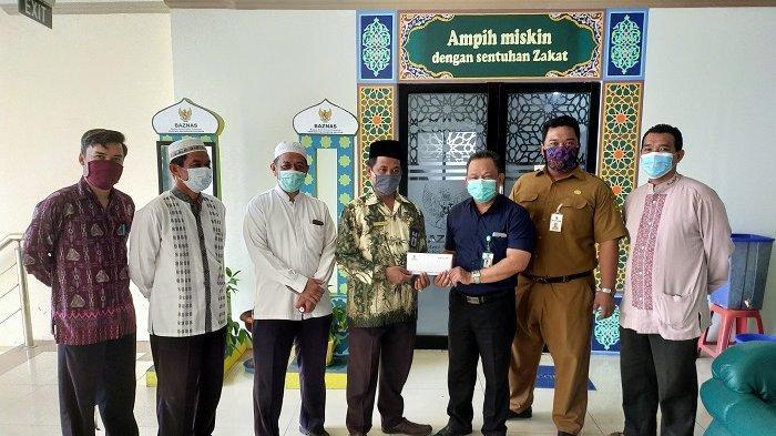 Percantik Masjid Terbuka El Rusydi, Baznas Berikan Bantuan Segini