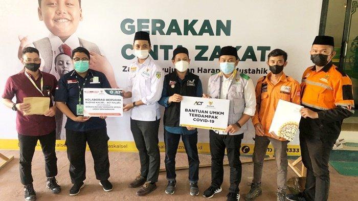 UMKM Kalsel Terdampak Pandemi Akan Dapat Rp 20 Juta dari BAZNAS dan ACT