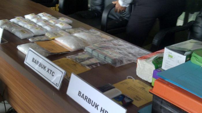Selain Sabu 2 Kg, Ditemukan 858 Ineks dari Jaringan Banjarmasin-Batola-Banjarbaru
