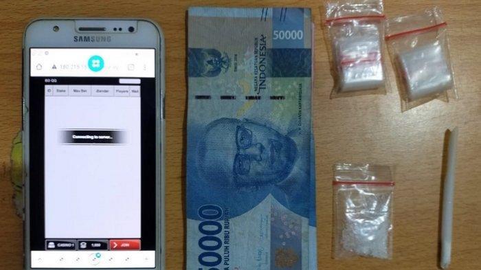 Narkoba Kalteng : Geledah Rumah Kontrakan di Sampit, Polisi Kotim Ringkus 2 Pengedar Sabu