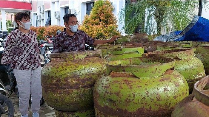 Mulai Langka, Harga Gas Elpiji 3 Kilogram di Banjarmasin Kini Melambung Rp 30.000