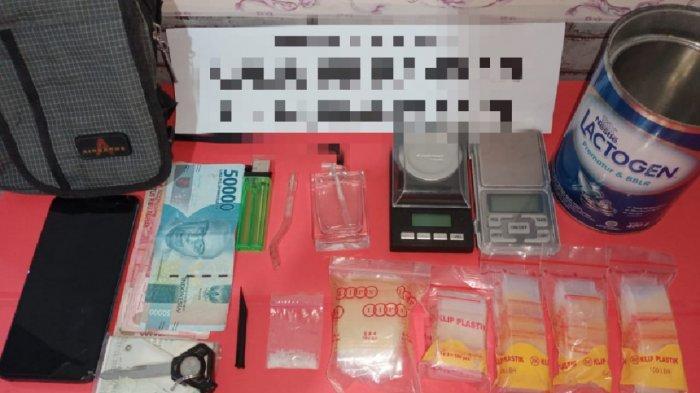 Narkoba Kalsel, Warga Banjarmasin Tertangkap Miliki Sabu di Satu Rumah di HST