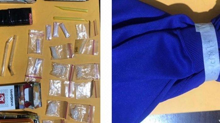 Ketahuan Ada Pipet di Kantong, Pria Kelayan B Banjarmasin Ini Ternyata Simpan 16 Paket Sabu di Rumah