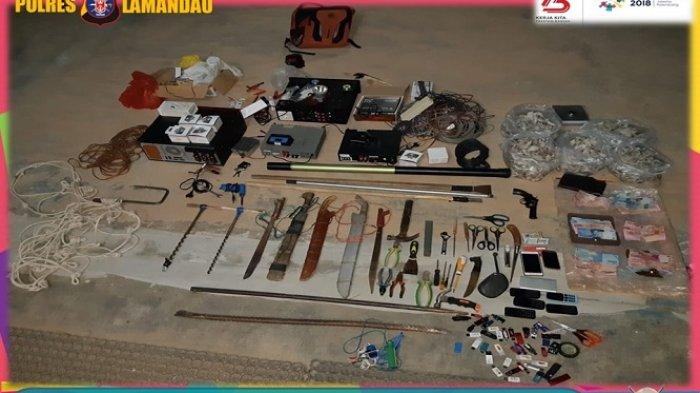 Begini Kronologis Penangkapan Kawanan Pencuri Sarang Walet di Lamandau, Polisi Pun Tembak Pelaku