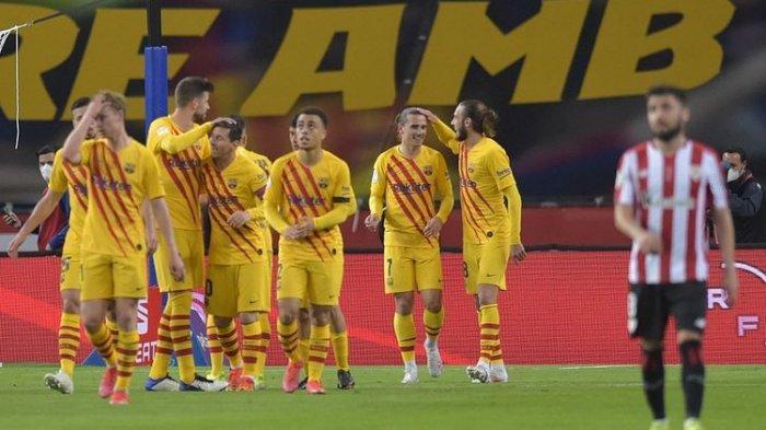 Barcelona Juara Copa Del Rey 2021, Messi Dua Gol, Real Madrid : Selamat Ya. . .