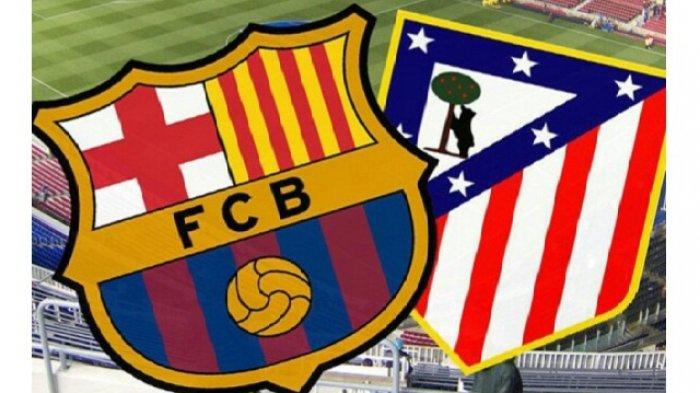 LINK Nonton TV Online Barcelona vs Atletico Liga Spanyol Live Streaming Bein Sports 1 Jam 21.15 WIB