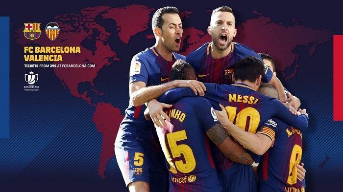 LINK Live Streaming Barcelona vs Valencia di TV Online ...