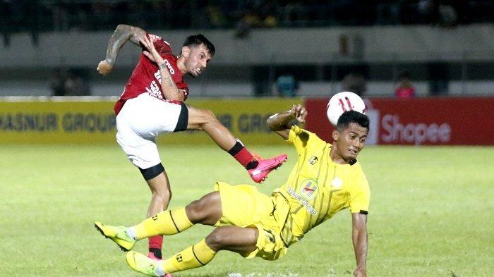 Hasil Barito Putera vs Bali United di Liga 1 2021, Skor 1-2 di Babak Pertama